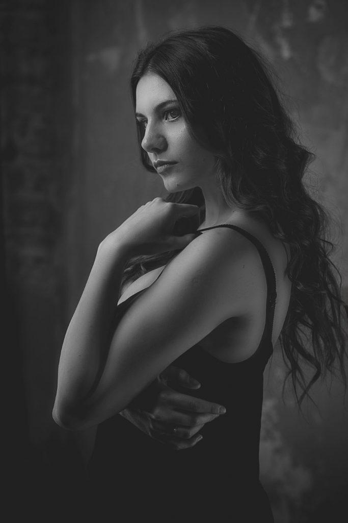 Modelka: Miłosława Oleksak<br>MUA: Joanna Huczko